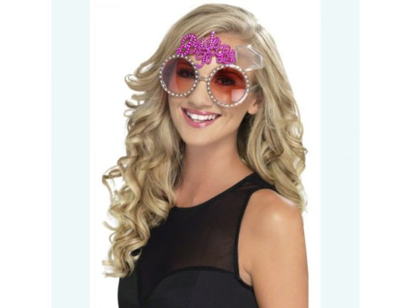 Pink Bride To Be Glasses With Rhinestones