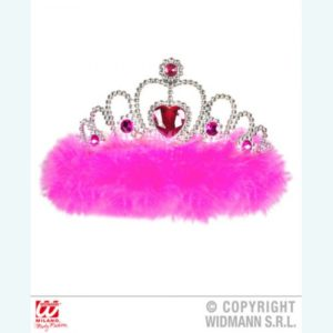 Fuchsia Tiara With Pink Jewels