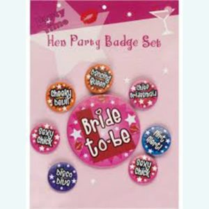 Bachelorette Badges & Ribbons