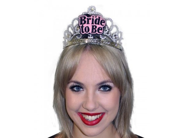 Bride To Be Tiara With Jewels