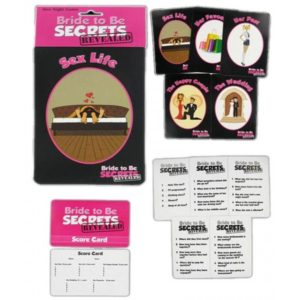 "Bachelorette Game "" Bride To Be Secrets Revealed"". How Well Do YOU Know The Bride?"