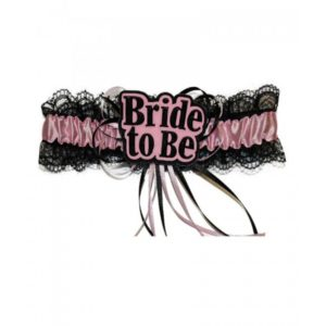 Black & Pink Bride To Be Garder