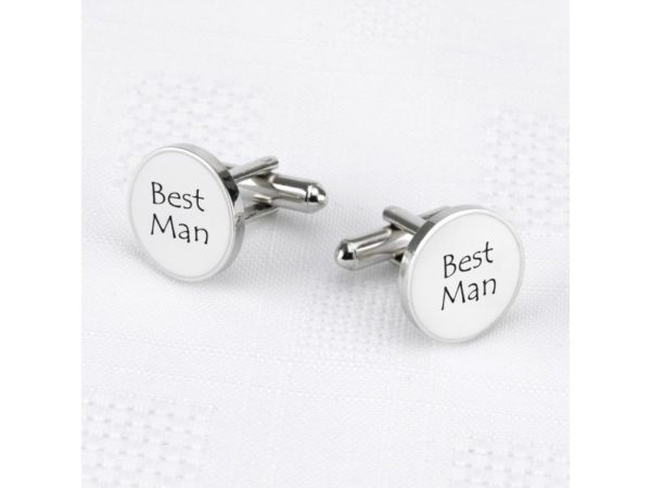 Best Man cufflinks Bachelor party accessories.
