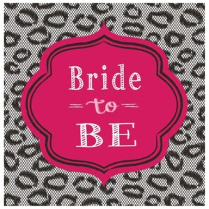 Bride To Be Luncheon Napkins 16/Pcs