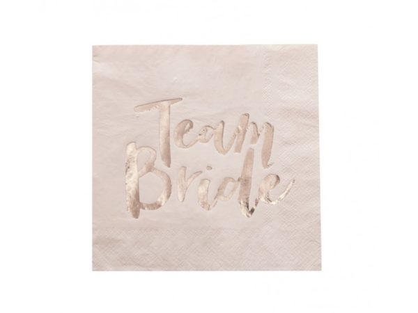 Team Bride Luncheon Napkins 20/Pcs