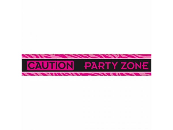 """""""Caution- Partyzone"""" Party Tape For Bachelorette Party"""