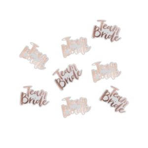 """Team Bride"" Table Confetti (14gr)"