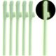 Glow in the Dark Willy Plastic Straws (6pcs)