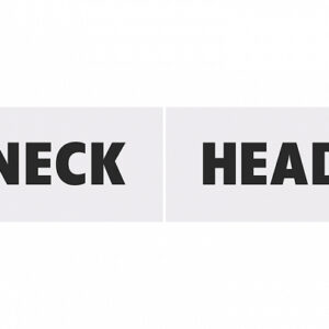 Head and Neck Photoprops για Γάμο