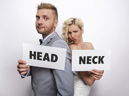 Set Up Head and Neck Wedding Photoprops